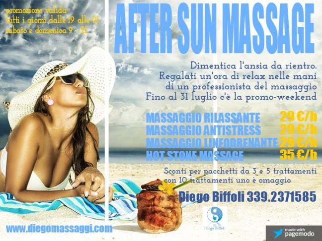 After Sun Massage Firenze