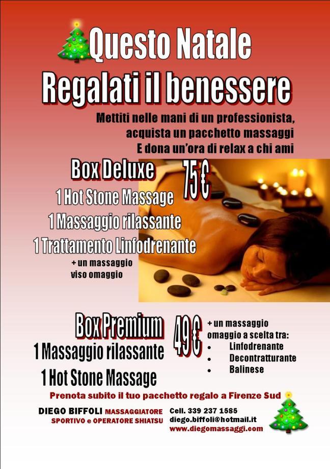 pacchetto regalo massaggi firenze